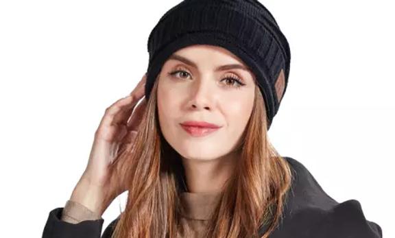 Chapeau tricoté intelligent sans-fil Bluetooth