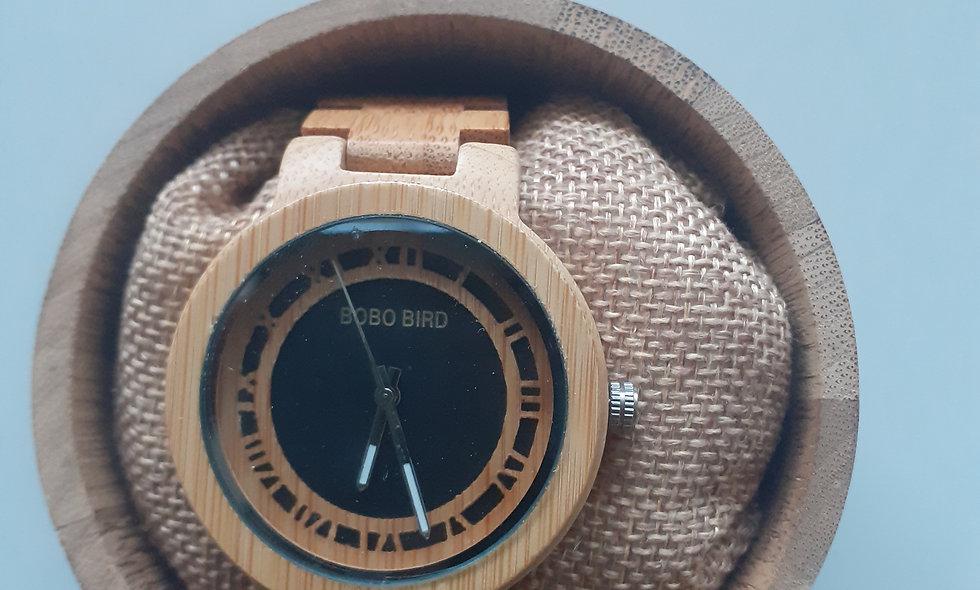 BOBO BIRD — montre en bois de bambou