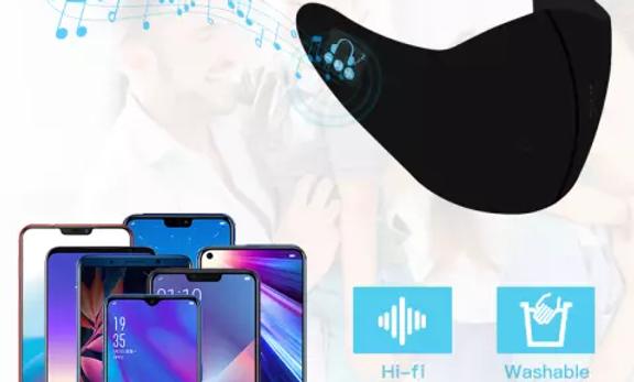 Masque Bluetooth lavable unisexe