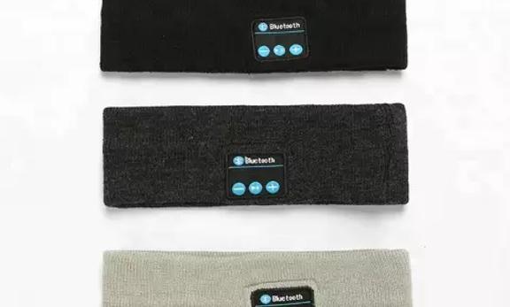 Bandeau en tricot sans fil Bluetooth