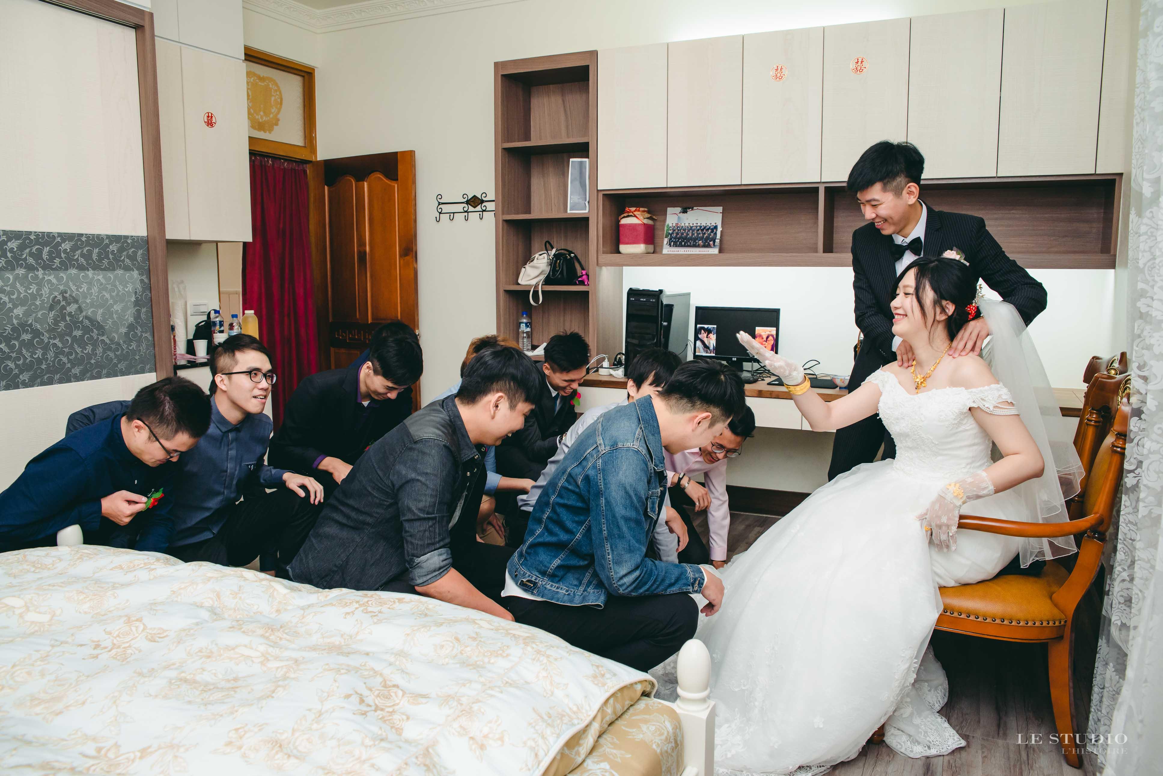 LE里斯朵-婚禮合照