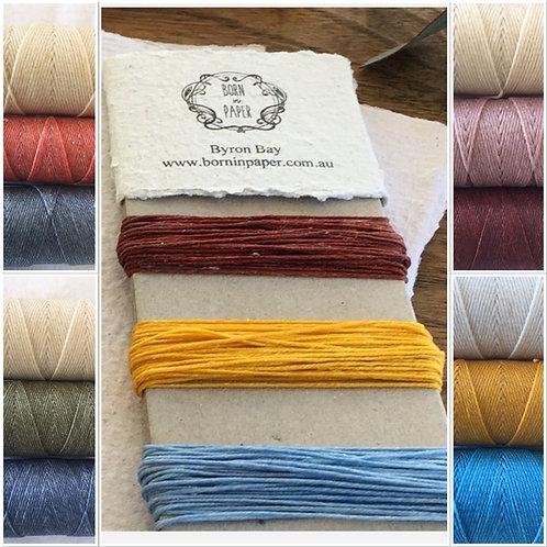 Crawford Waxed Linen Thread