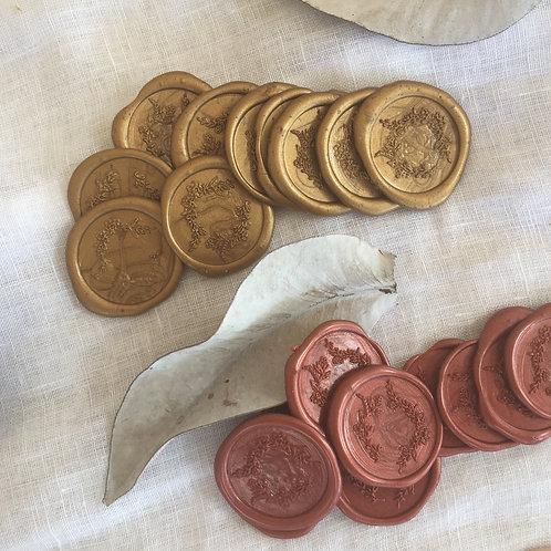 12 x Wax Seals ready to use