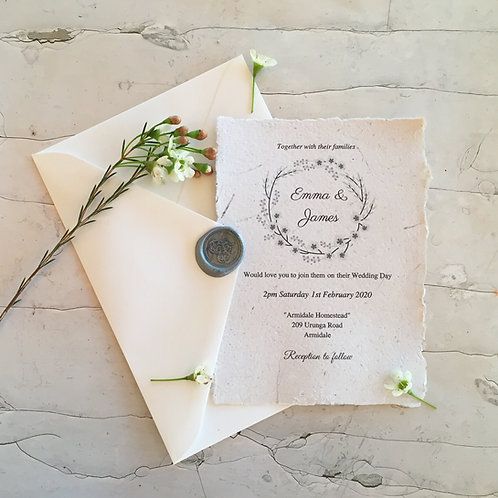 Purely Natural Wedding Stationery
