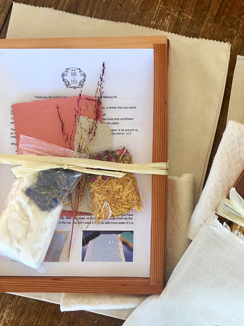 Paper Making Mould and Deckle Kits A4