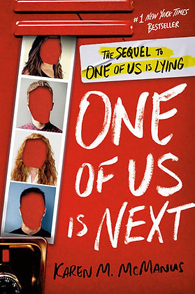 One Of Us Is Next Hardcover