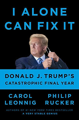 I Alone Can Fix It Hardcover