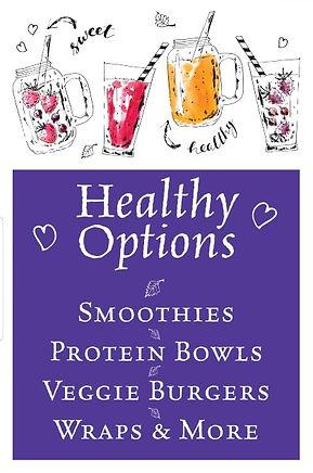 Healthy Menu Options