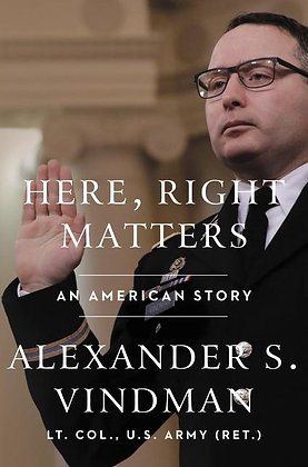 Here, Right Matters Hardcover