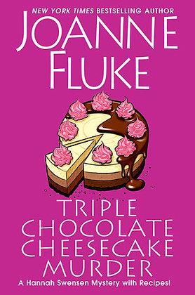 Triple Chocolate Cheesecake Murder Hardcover