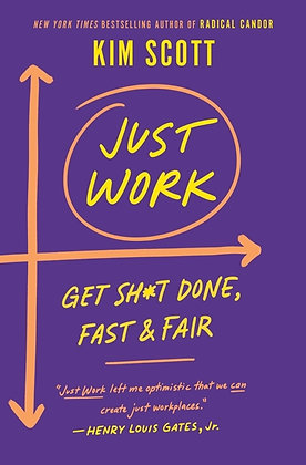 Just Work Hardcover
