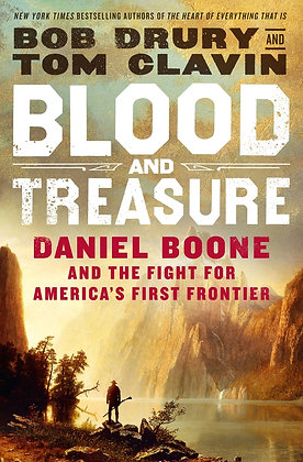 Blood And Treasure Hardcover