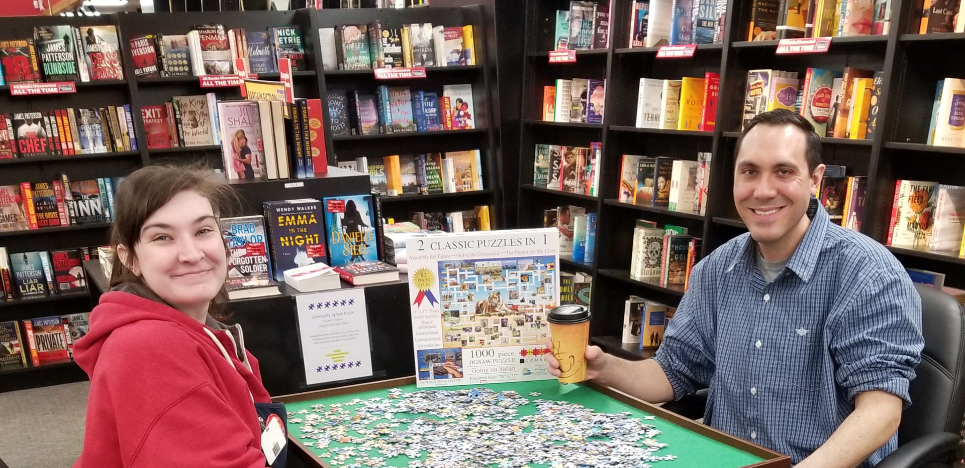 Community Puzzle Table
