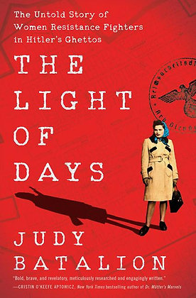 The Light Of Days Hardcover