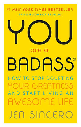 You Are A Badass Paperback