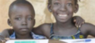 Smiling Black Children_ African Ethnicity Education Symbol Schooling