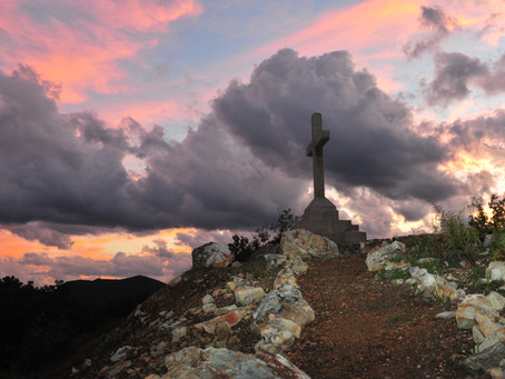 The Cross on Penitentiary Mountain