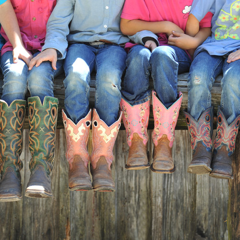 Old Century Meats kids boots