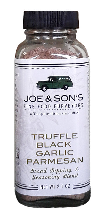 Truffle Black Garlic Parmesan Bread Dipping & Seasoning