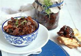 Mushroom Sage and Red Apple Chutney