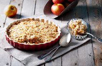 Faux Apple Crisp (Keto and Gluten Free)