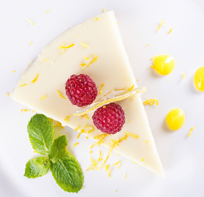 No Bake Lemon Tart