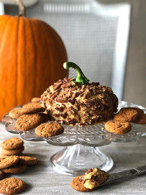 Pumpkin Pie Cheese Ball (or dip)