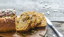 Blood Orange Pumpkin Bread