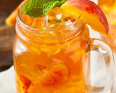 Southern Style Spiked Peach Ice Tea