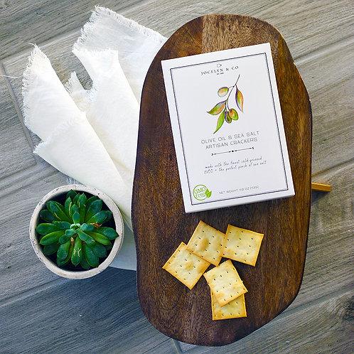 Olive Oil Sea Salt Cracker