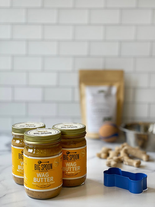 Wag Butter (specialty dog peanut butter)