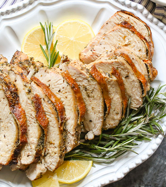 Herb Roasted Turkey with Gravy