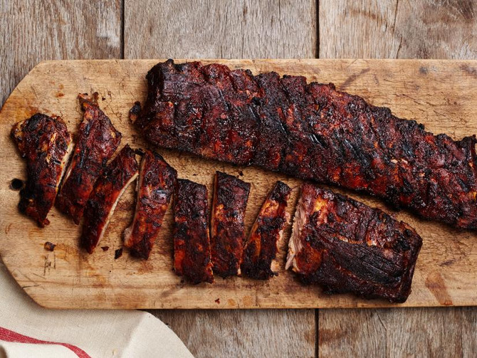Easy, Fall-Off-The-Bone Ribs with Balsamic BBQ Sauce