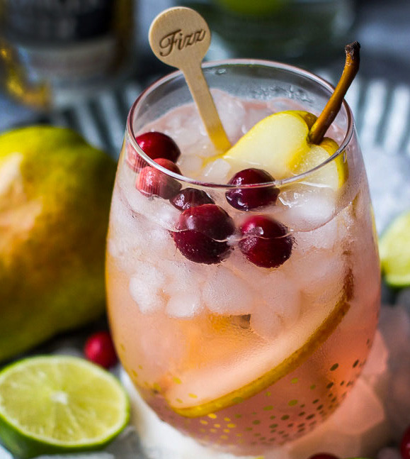 Cranberry Spice Cocktail