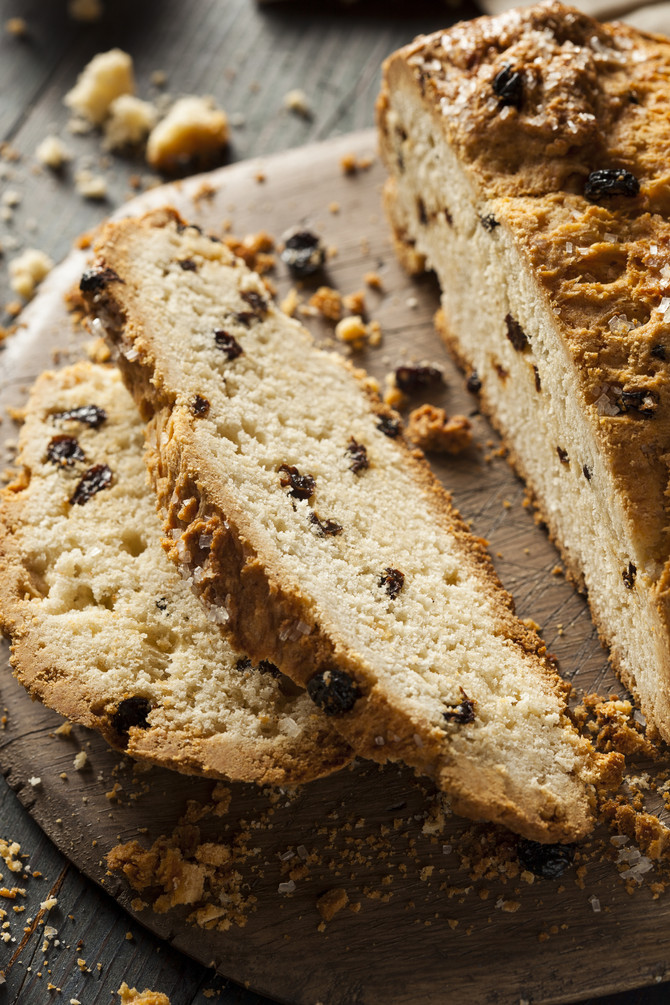 Irish Soda Bread with a Citrus Twist