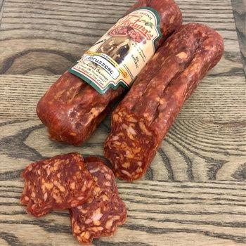 "Abruzzese ""HOT"" Dry-Cured Sausage 6 oz sticks"