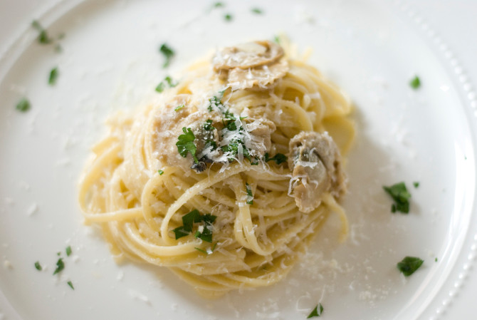 From your Pantry Linguini with Clam Sauce