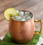Moscow Mule without the sugar!
