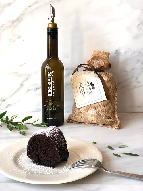 Chocolate Olive Oil Cake Baking Mix