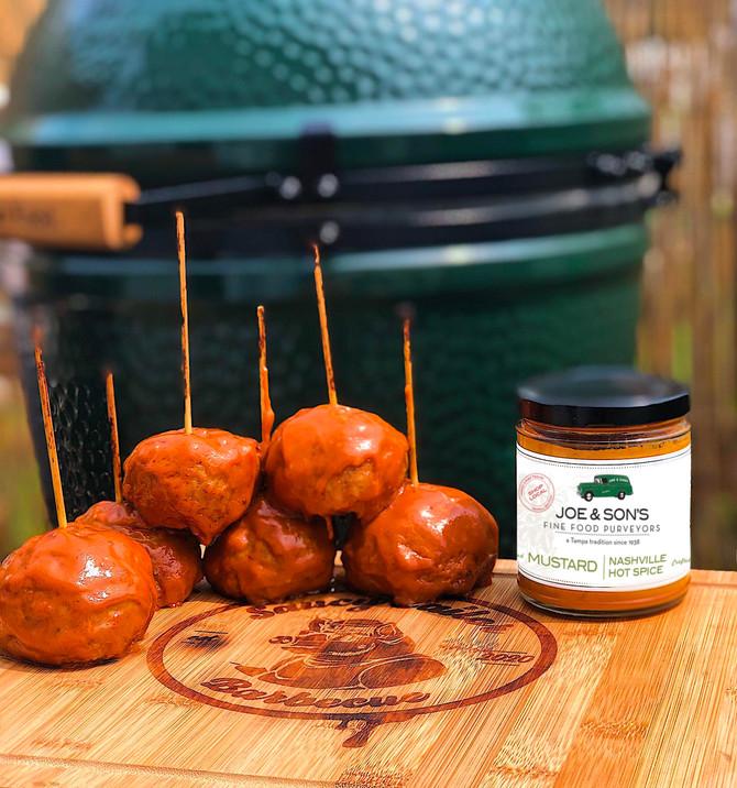 Nashville Hot Turkey Meatballs