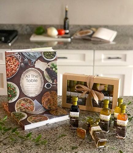 Cookbook and Sampler Pack Combo Gift Set