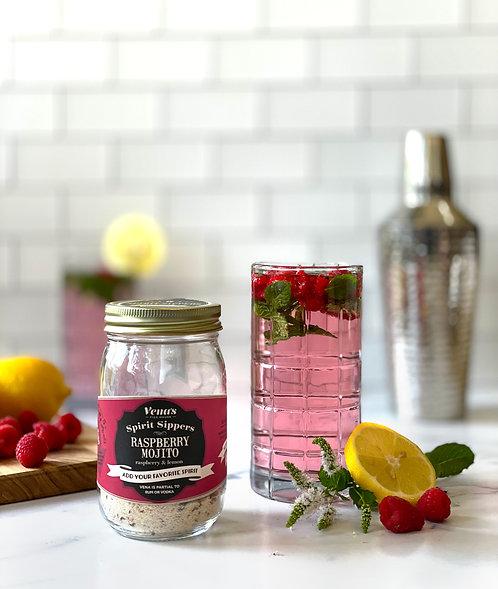 Raspbery Mojito Spirit Sipper Infusion Jar