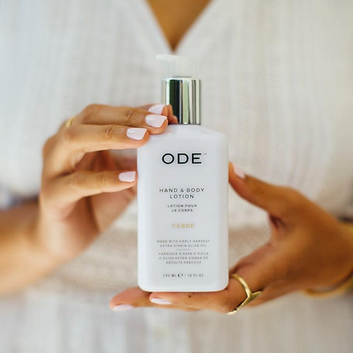 ODE Verde - Hand and Body Lotion 10 oz