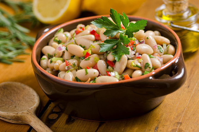 Tuscan White Beans with Olive Oil