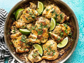Crispy Cilantro Lime Chicken