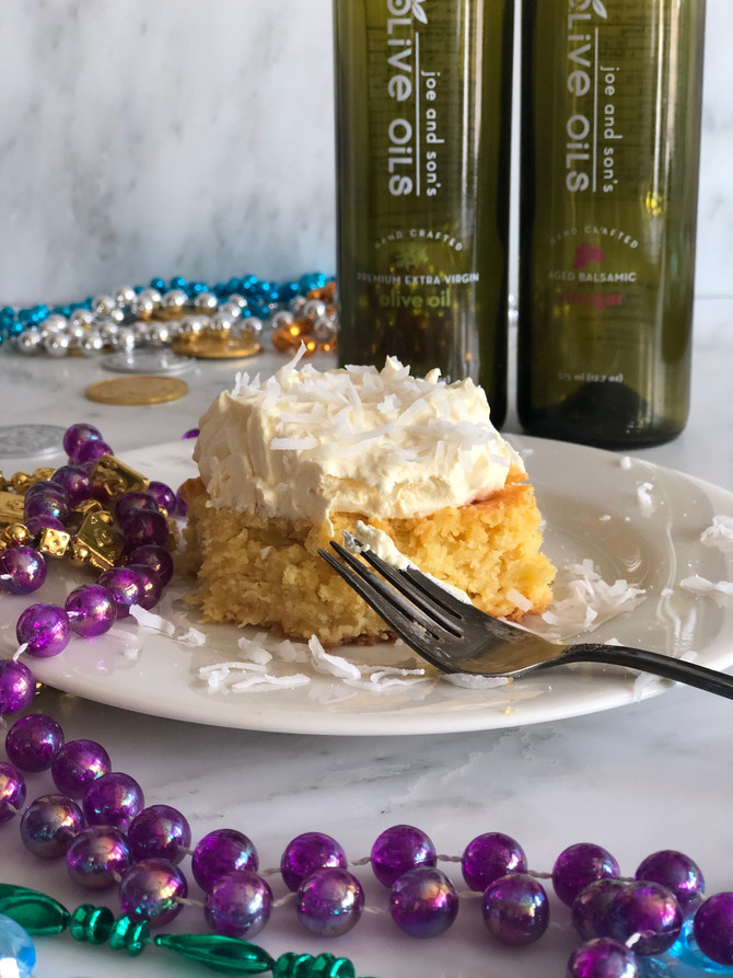 Arrgh! Pirate Grog Coconut-Lime Rum Cake