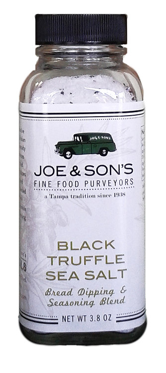 Black Truffle Sea Salt 3.8 oz
