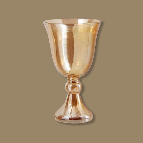 """10"""" Pedestal Vase"""