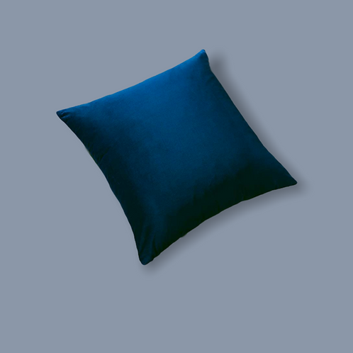 Electric Blue Pillow Cover