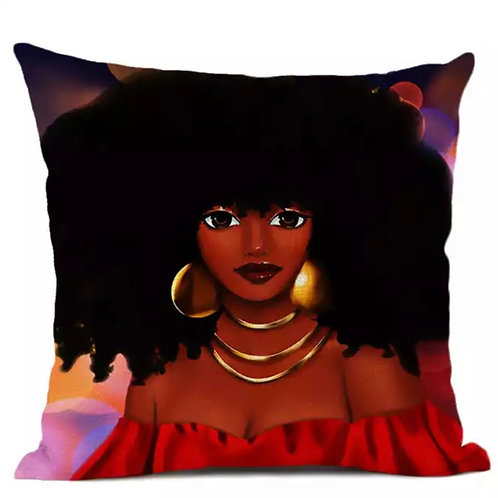 Stylish Beauty Pillow Cover